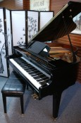Ebony Gloss Wurlitzer Baby Grand 4'7