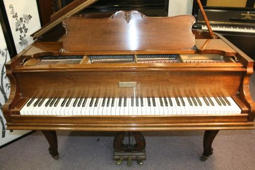 Sonnys Piano Tv Piano Photos Sold Art Case Knabe