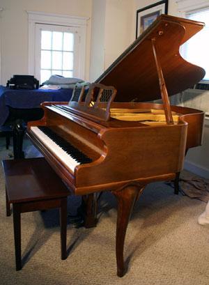 Piano For Sale Art Case Chickering Baby Grand Walnut
