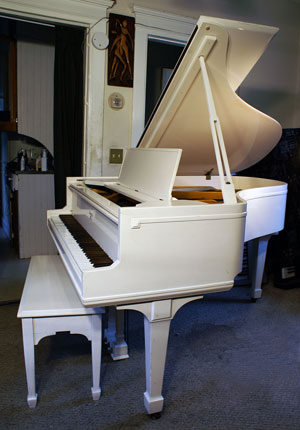 Piano For Sale Sohmer Baby Grand Cupid Model White Gloss