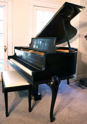 Piano For Sale Wurlitzer Ebony Baby Grand French