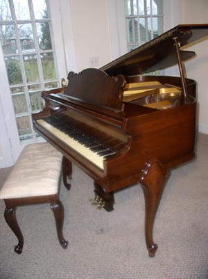 Piano For Sale Art Case Estey Baby Grand French Legs