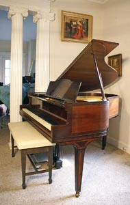 Li Ny Used Piano For Sale Art Case George Steck Baby